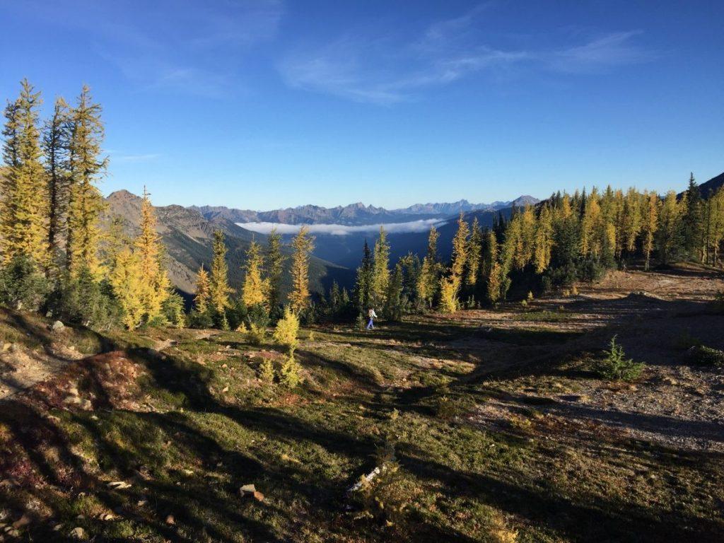 Northern Cascade Mountains in de herfst PCT- © Andre de Jel