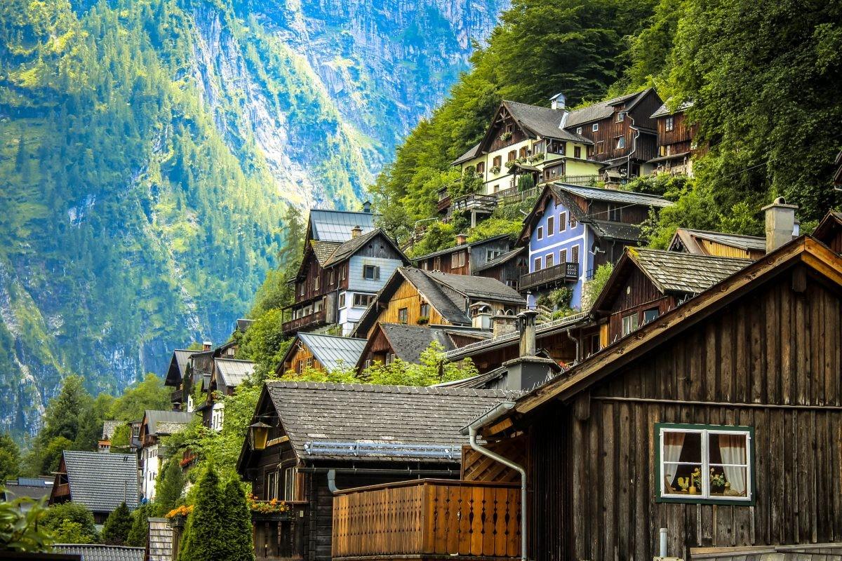 Rustieke bergdorpjes