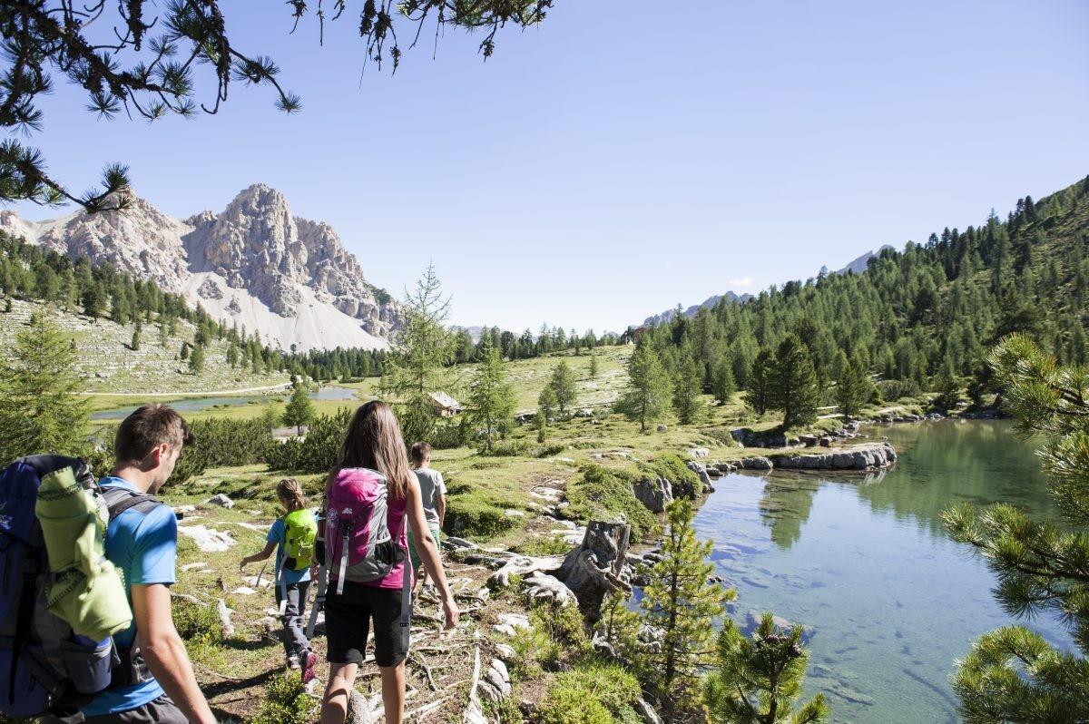 Hiking kan op elk niveau (© IDM Suedtirol – Photo Alex Filz)