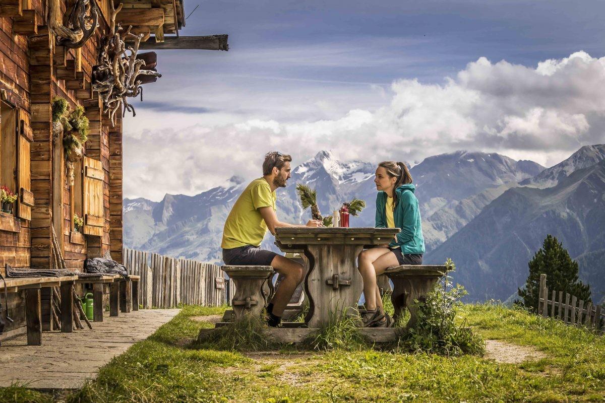 Zie je jezelf hier al zitten? (© TVB Kronplatz - Photo Dietmar Denger Zuid-Tirol)