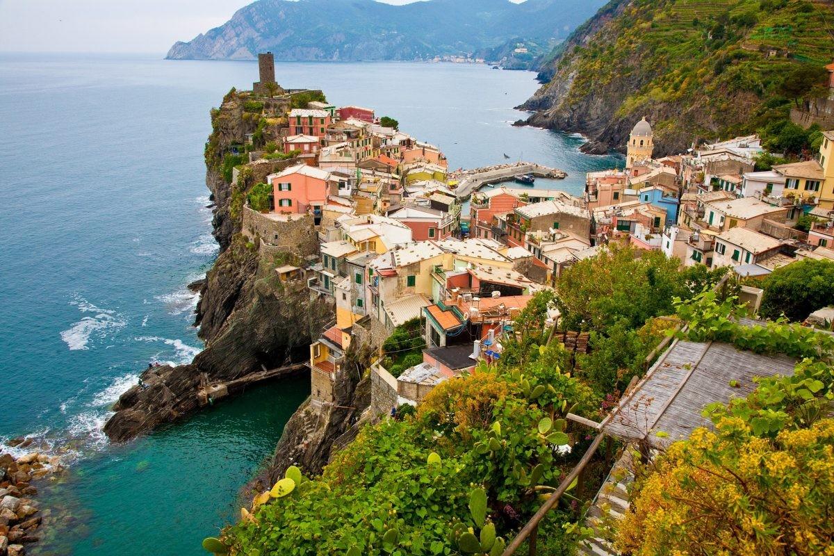 De omgeving van Cinque Terre is prachtig om te wandelen - Foto: PHAROS REIZEN