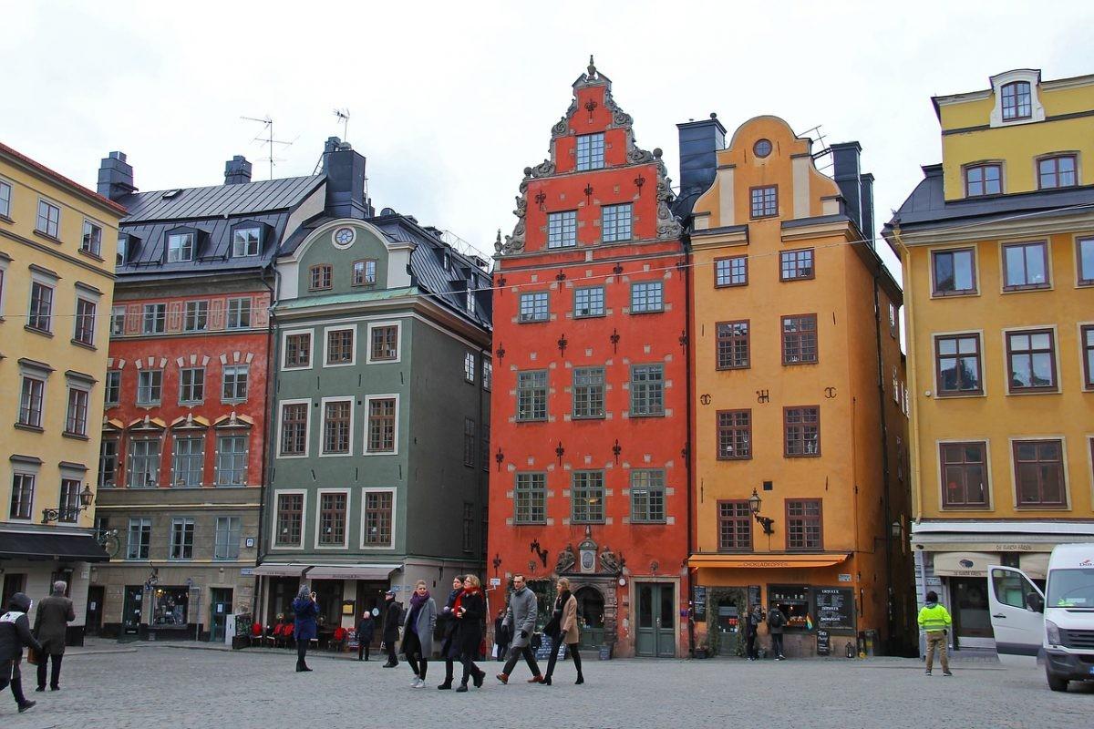 Loop rond in het oude centrum Gamla Stan in Stockholm - PHAROS REIZEN
