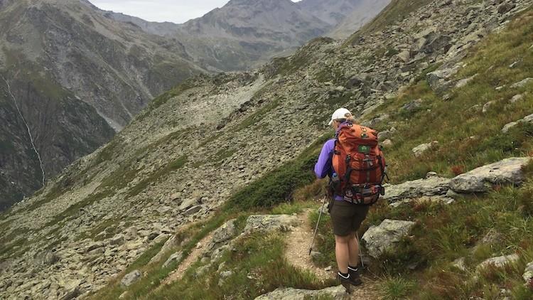 Het is ruig, maar ook groen in Aosta Italië
