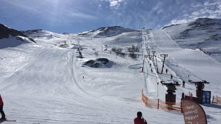 Mooie, rustige pistes in Hemsedal Noorwegen
