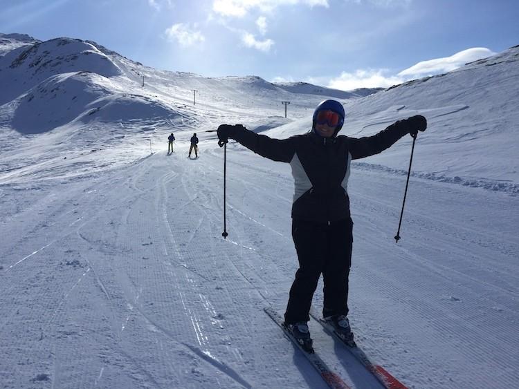 Heerlijk skiën in Hemsedal.