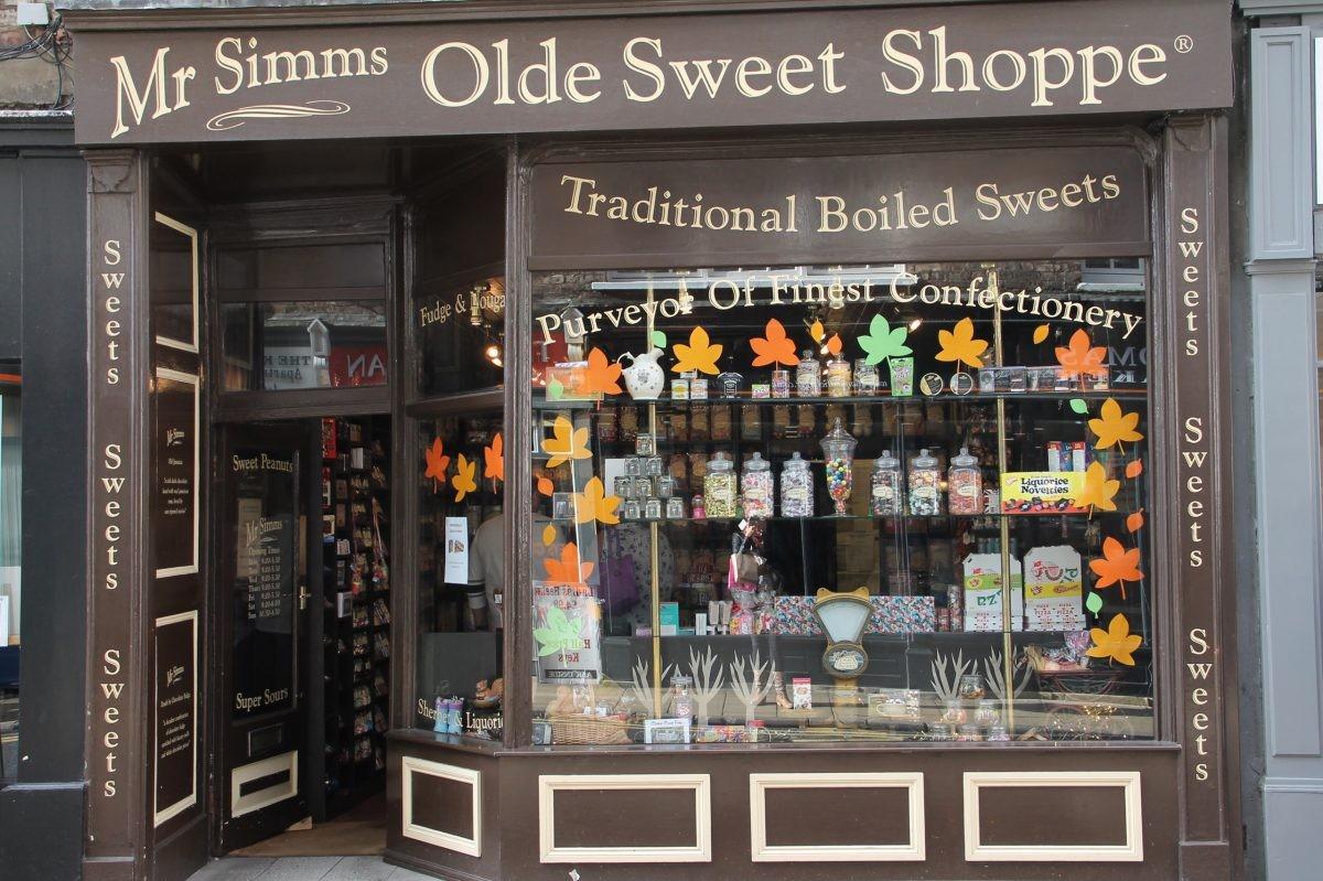 Ouderwetse snoepwinkel in York - Foto: PHAROS REIZEN