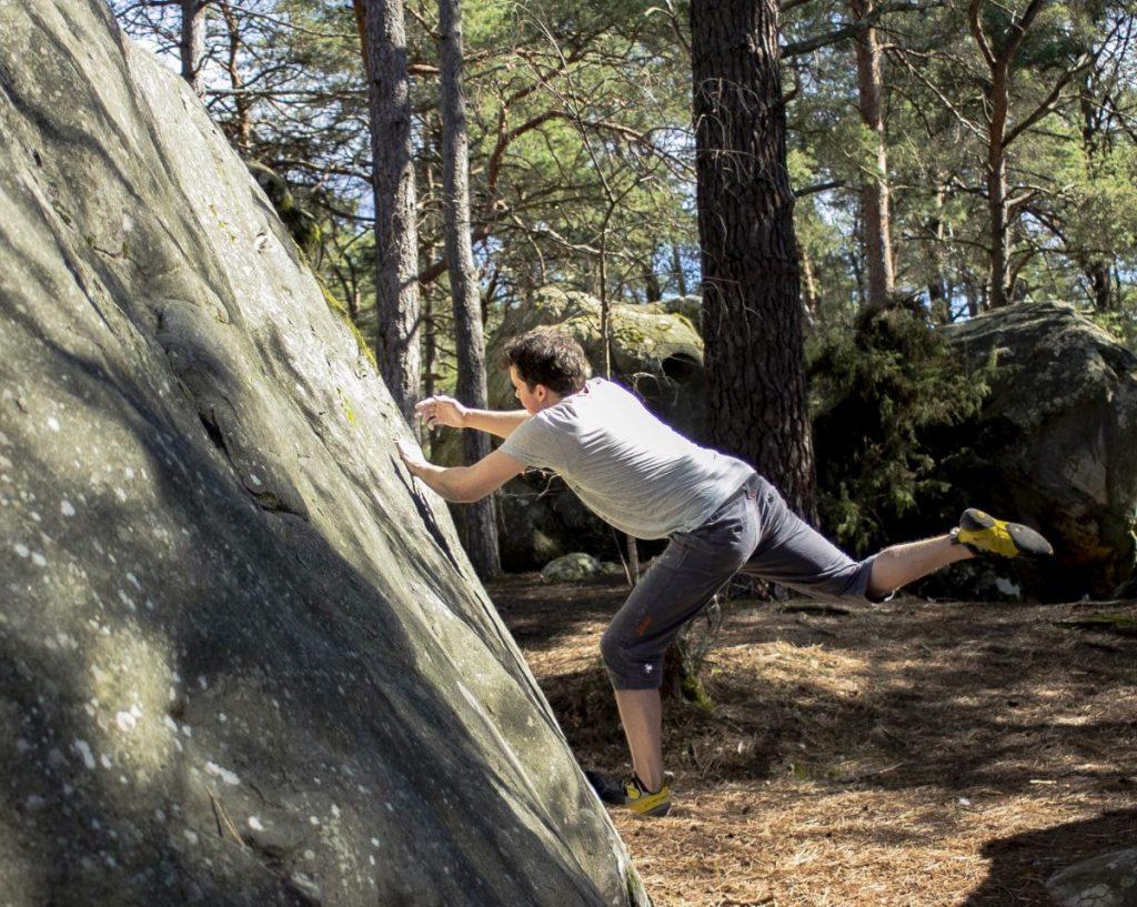 Een korte route kan heel wat kracht en balans vergen. Foto: Erwin Zantinga