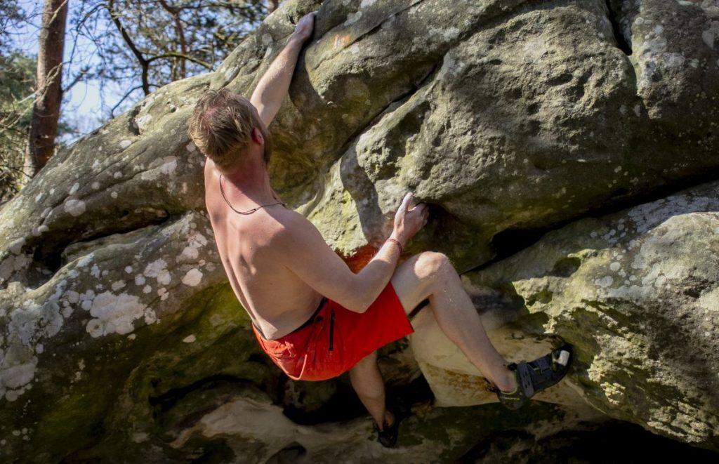 Fontainebleau maakt van je een volwassen boulderaar! Foto: Erwin Zantinga