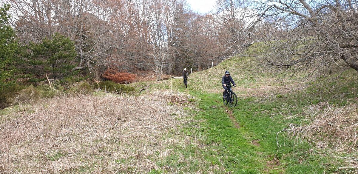 Met een e-mountainbike over de Grande Traversée de l'Ardéche.