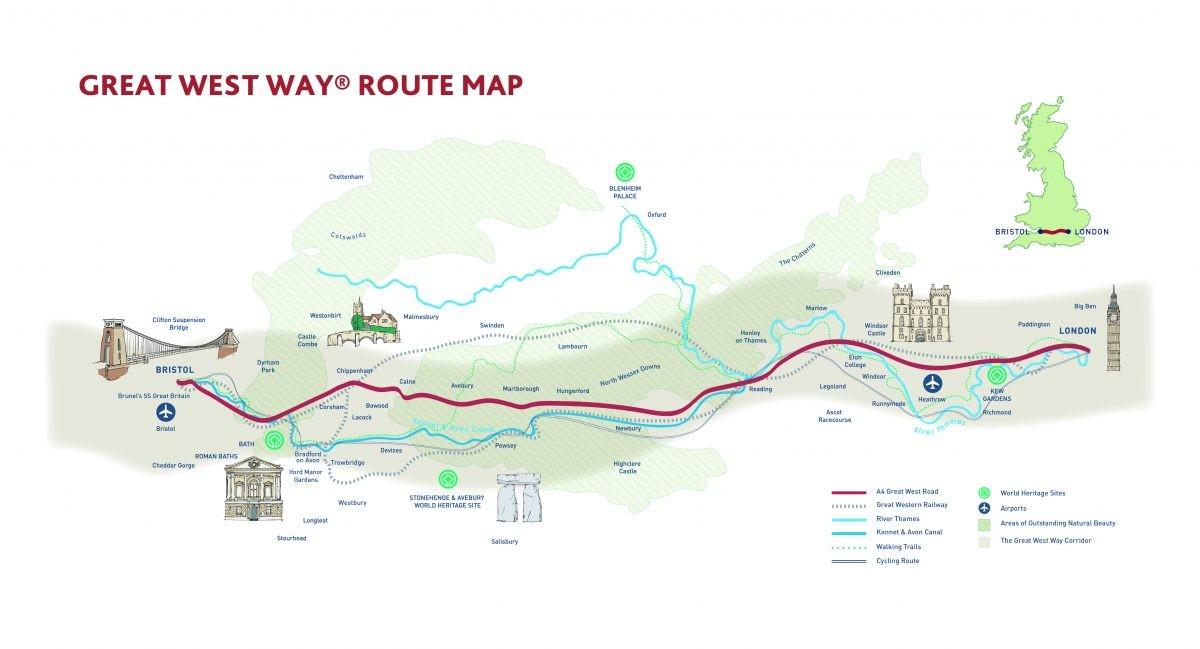 Route Great West Way www.greatwestway.co.uk