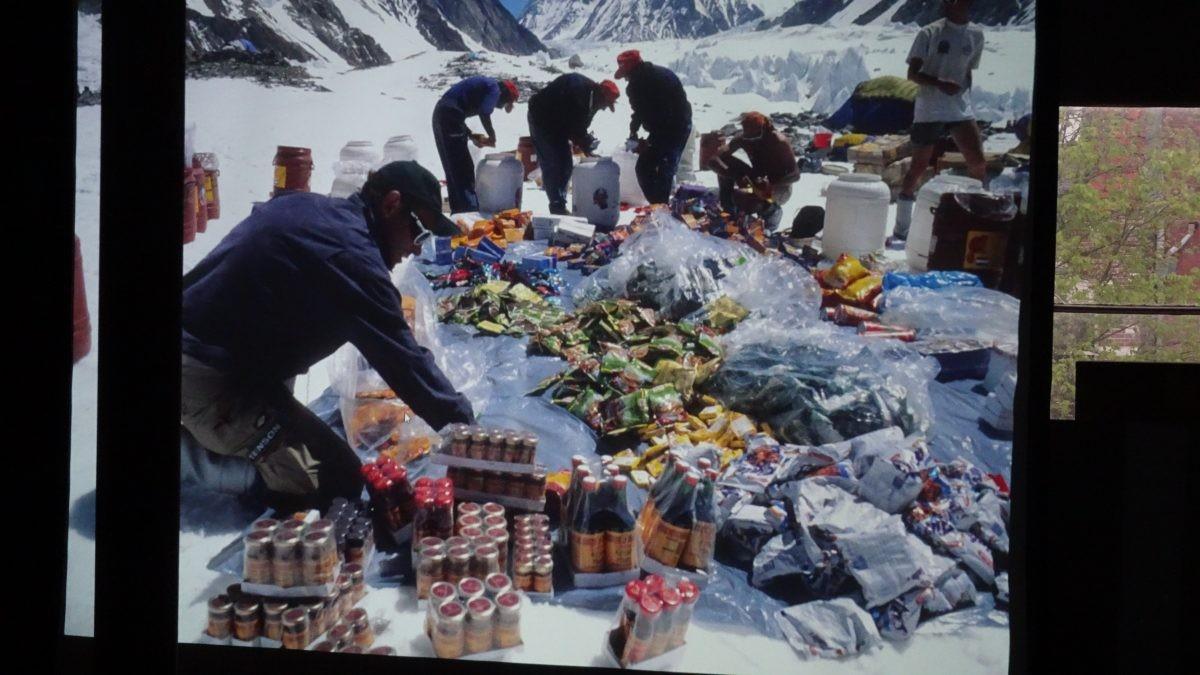 expeditievoeding voor K2