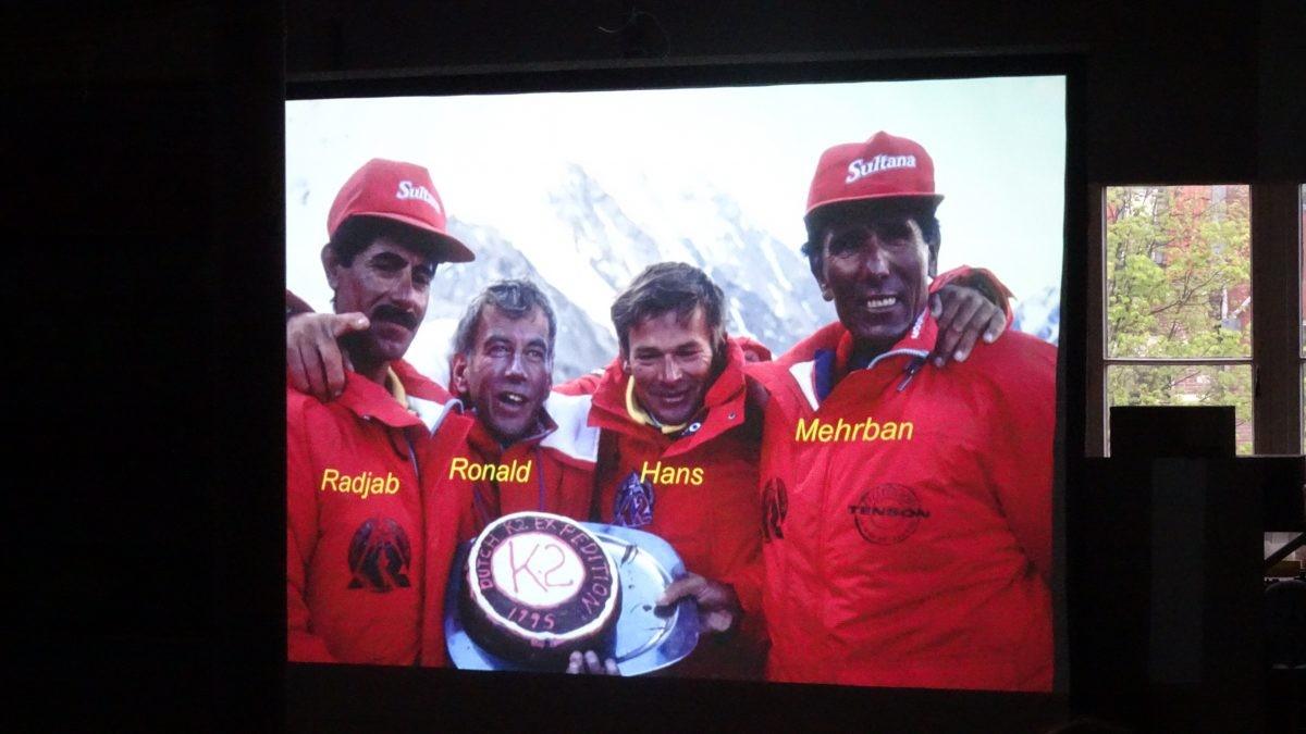Taart voor de top