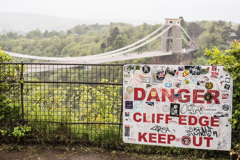 Clifton Suspention Bridge over de Avon Gorge