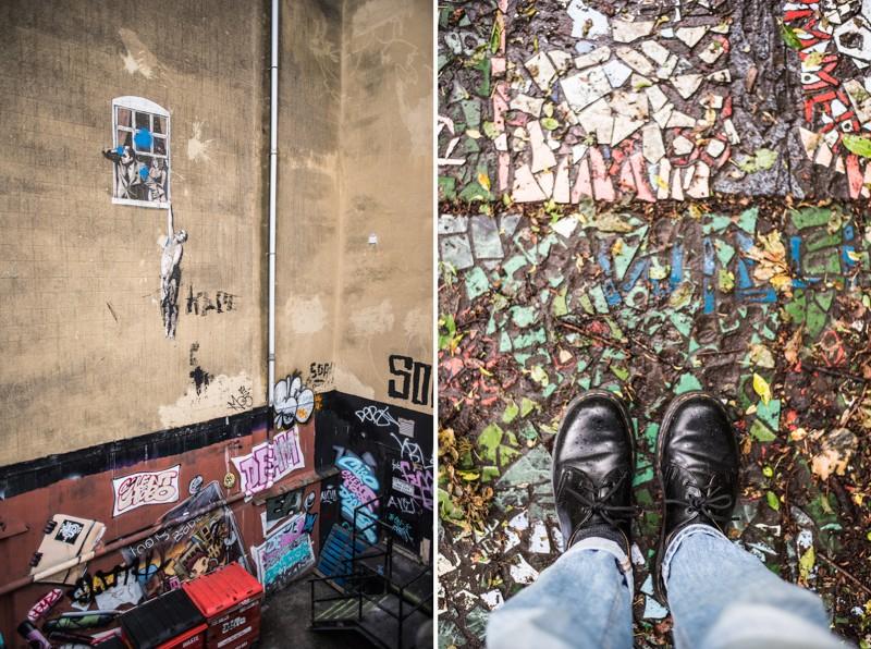 Banksy kleurt de stad op