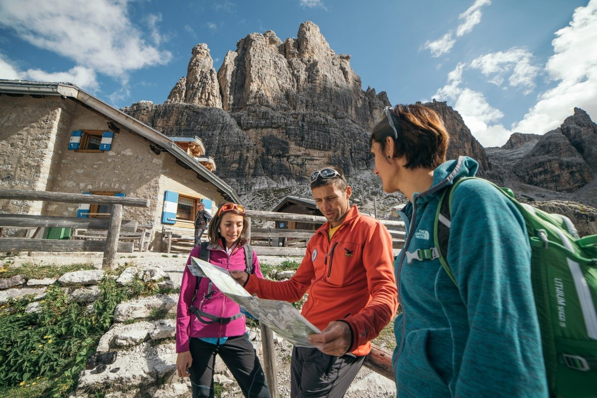 In Trentino heb je oneindig veel mogelijkheden om te hiken © Fototeca Trentino Sviluppo S.p.A. - E. Veronese