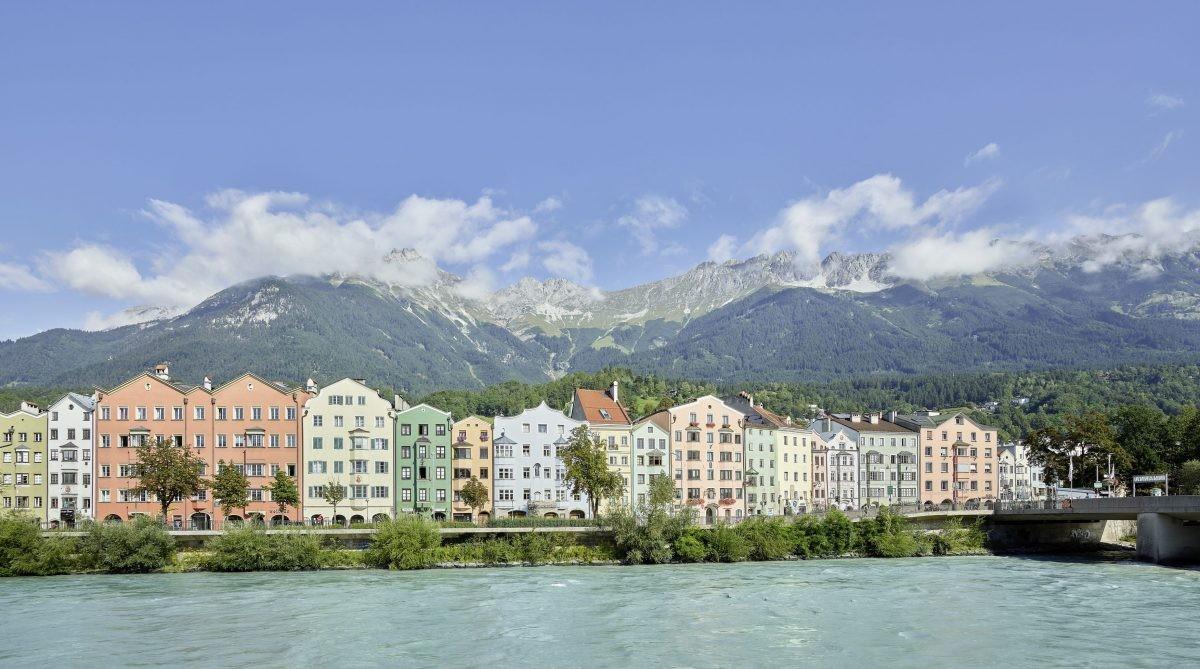 Een karakteristiek stukje Innsbruck. Foto; Christian Vorhofer