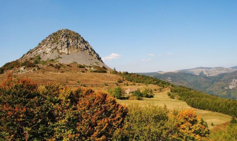 Le mont Gerbier de Jonce