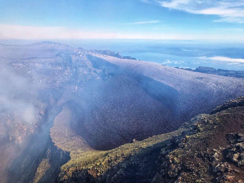 Vulkaan in Chili, fotocredits Karin en Ilse Nijhof