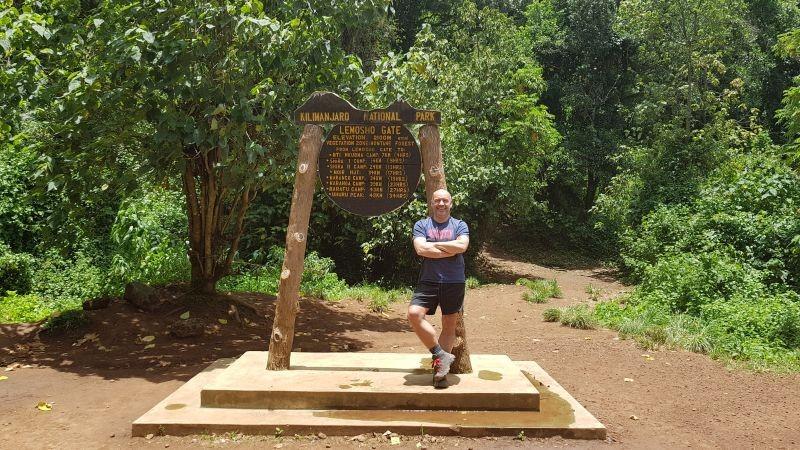 Startpunt Lemosho Gate