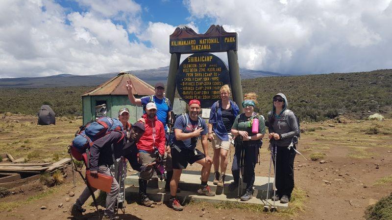 Shira 1 camp op 3610+