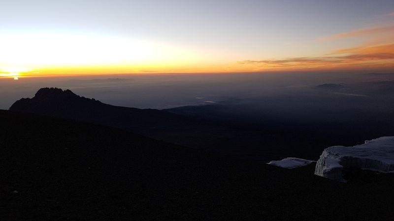 Eindelijk sunrise…