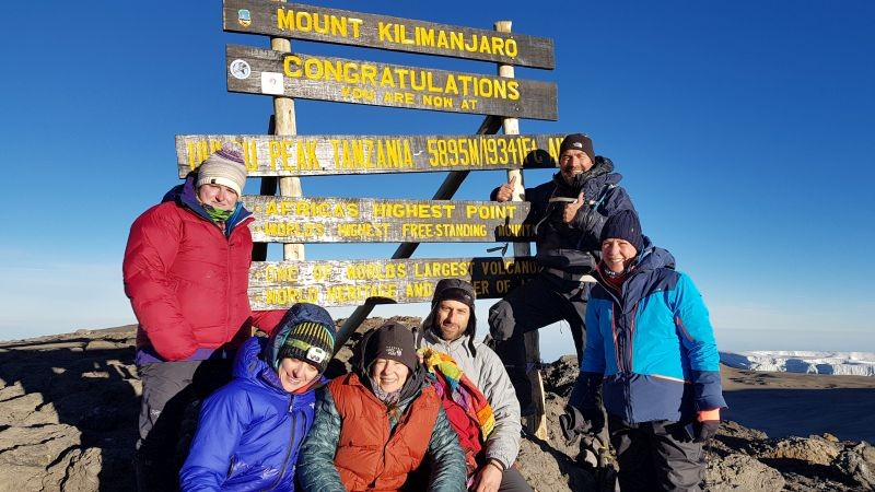 Summit Mount Kilimanjaro 5895+