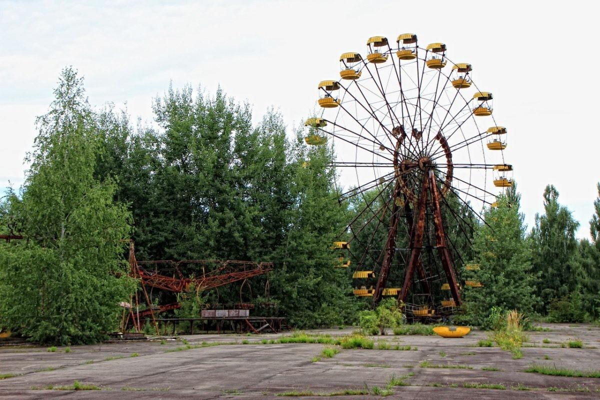 Een reuzenrad dat er nog net zo bij staat als toen. Bron: Pixabay