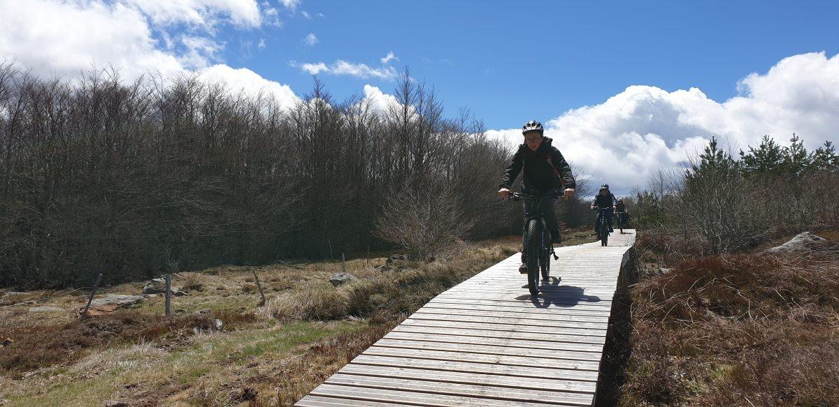 Prima uitgezette route Grande Traversée de LÁrdèche. Eigen foto: Noëlle Verhage