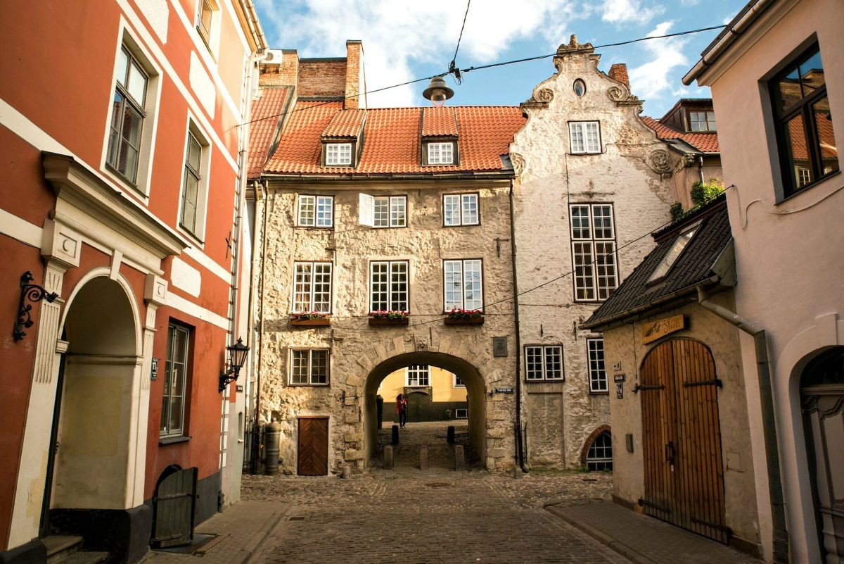 Oude panden in Riga. Foto: Latvia Travel. Jānis Bautra