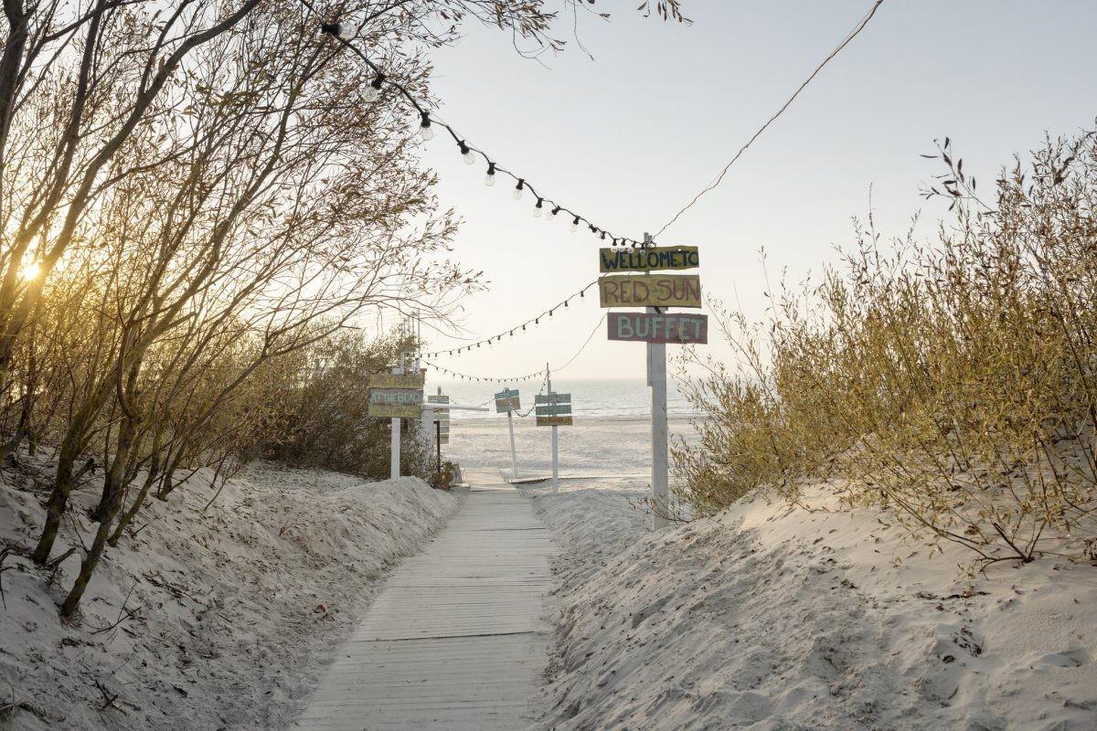 Lekker naar het strand van Liepāja. Bron: Latvia Travel. Reinis Hofmanis