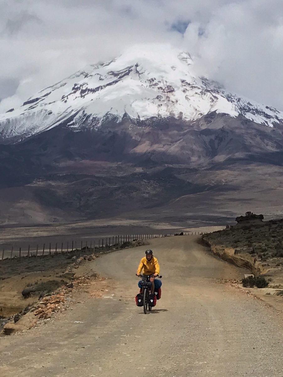 chimborazo vulkaan, ecuador, De Avenue der Vulkanen