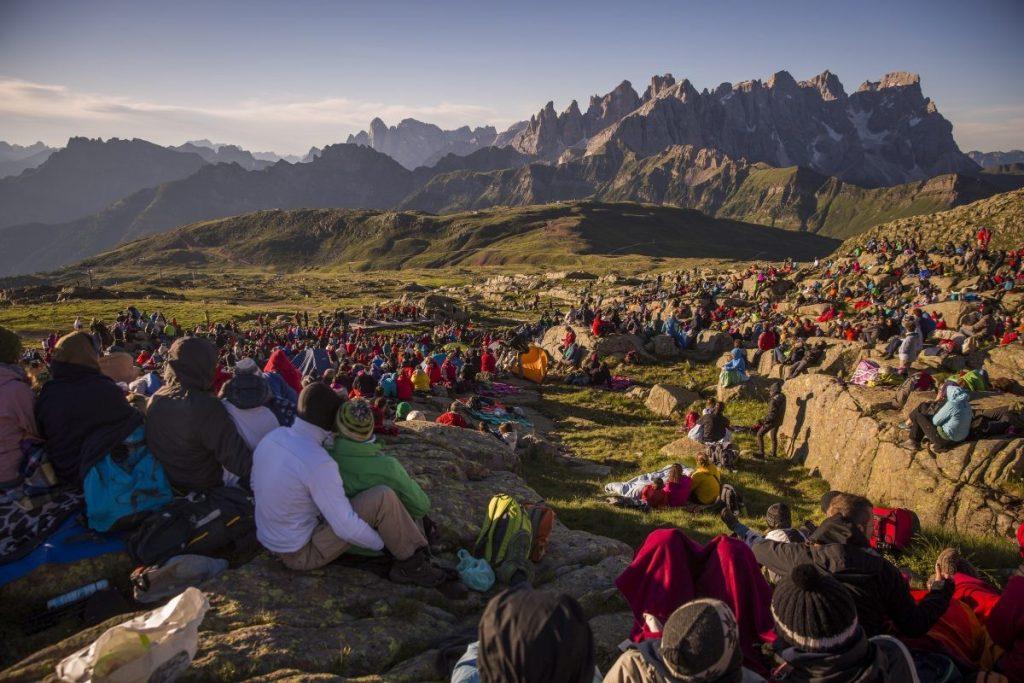 Dit ziet er toch waanzinnig uit? Laat staan hoe het klinkt! Foto: Col Margherita, Val di Fassa © Trentino Sviluppo S.p.A. - F. Modica.jpg