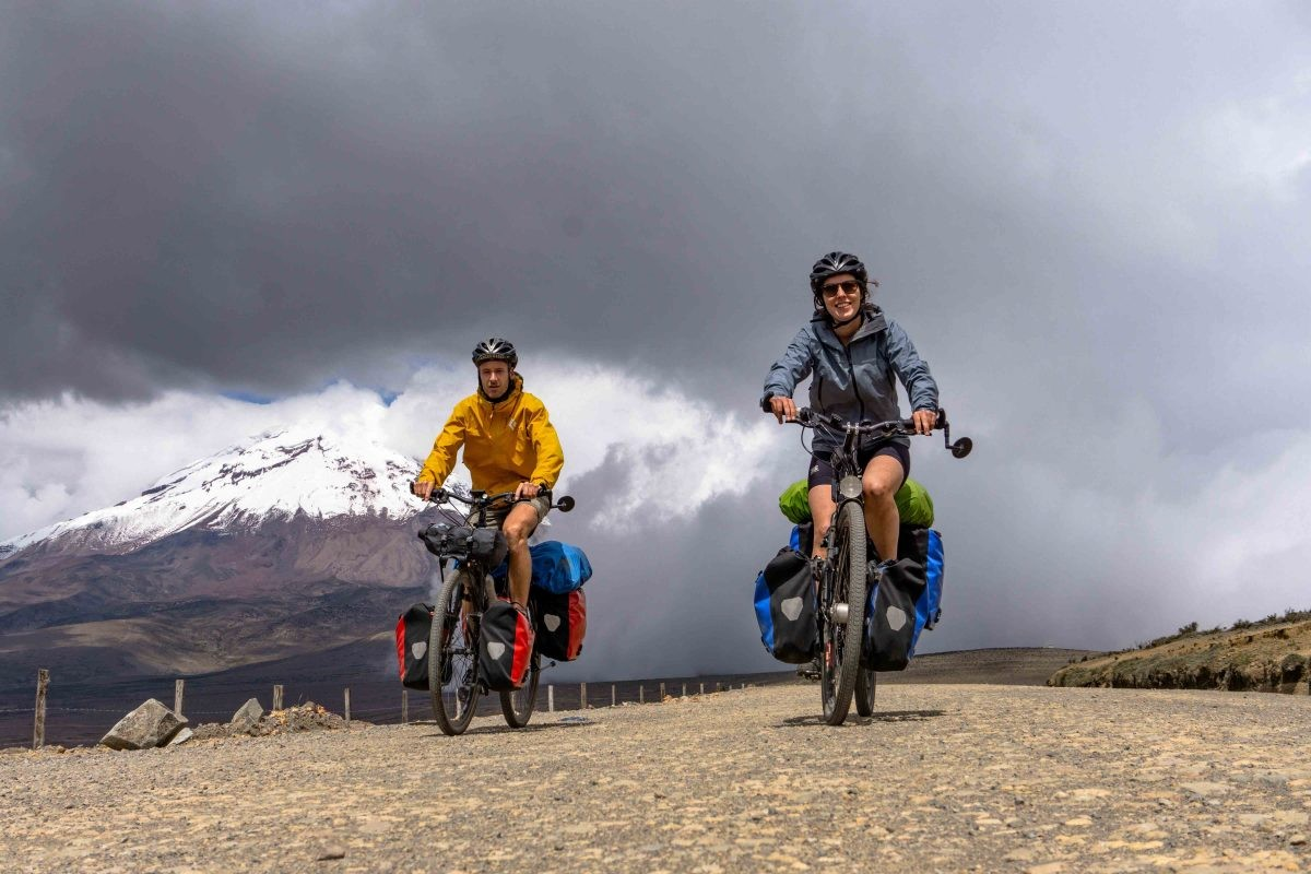 Chimborazo vulkaan, De Avenue der Vulkanen