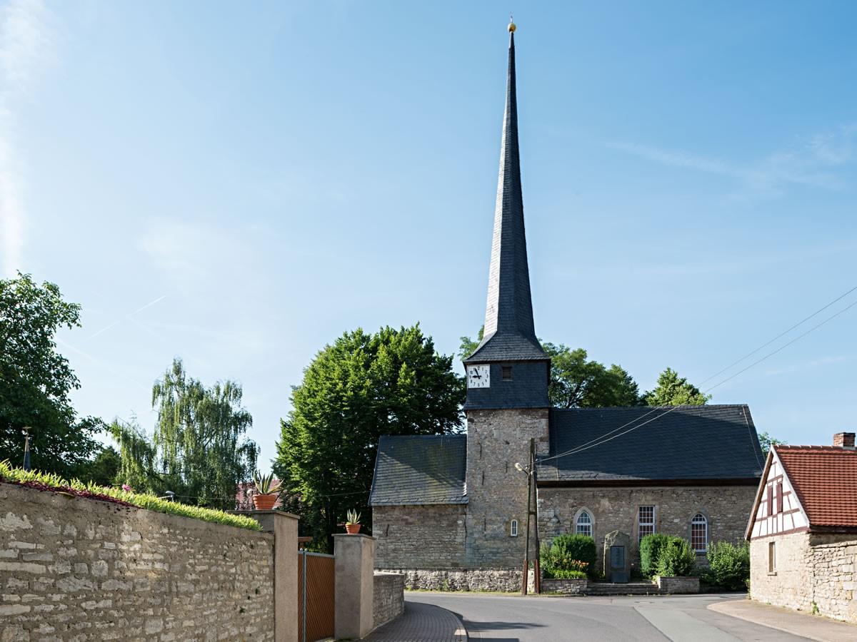 De kerk van Gelmeroda