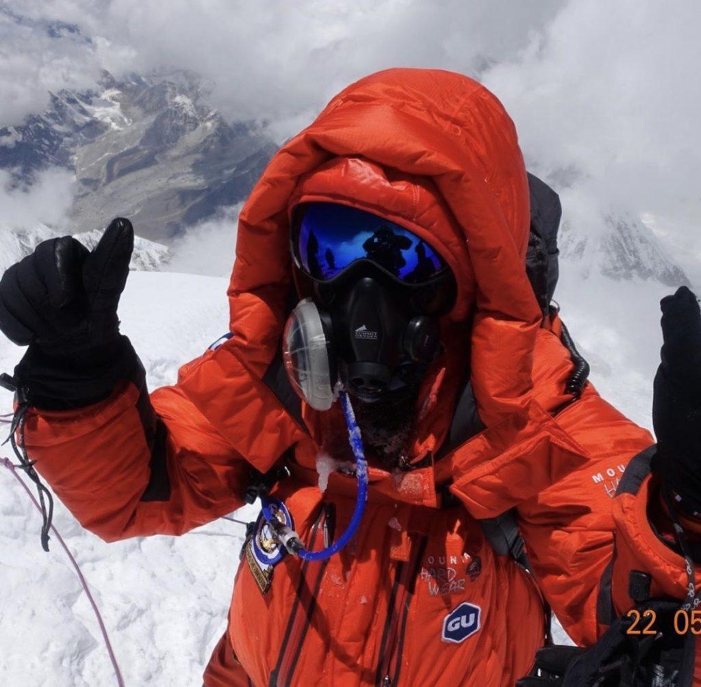 Roxanne Vogel op de top