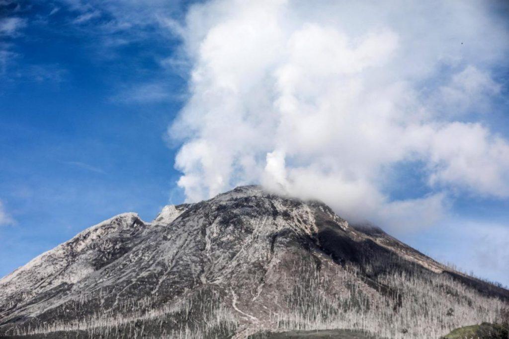 Uitbarsting vulkaan Sinabung
