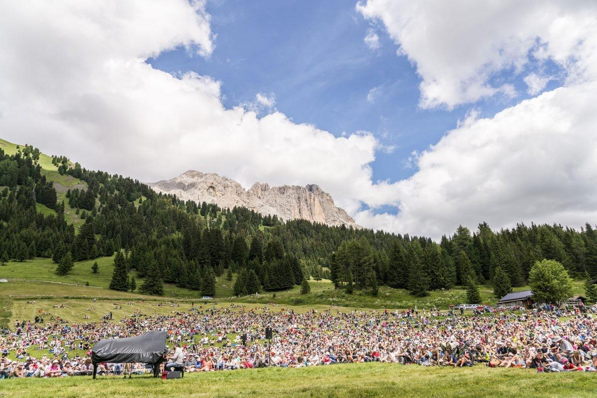 Een mystieke ervaring. Foto: Val Durone, Val di Fassa © Trentino - M. Montibeller