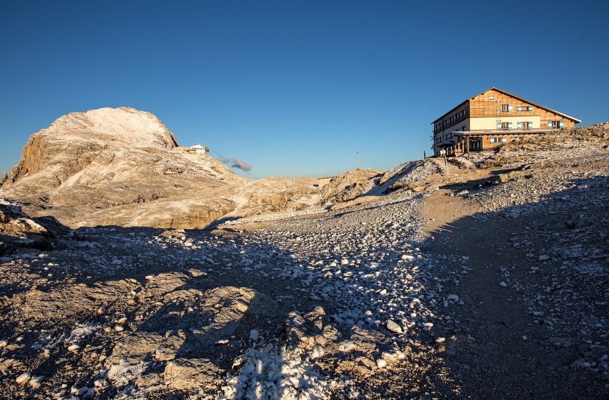 Uitzicht vanaf Rif. Rosetta © Fototeca Trentino Sviluppo S.p.A. - T. Forin