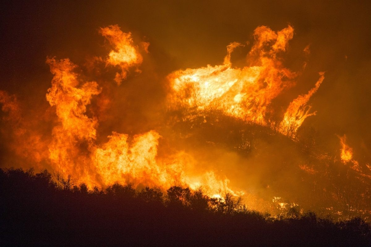 Bosbranden Zuid-Europa