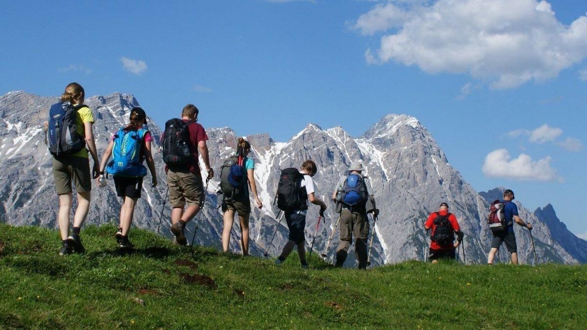 De Stoabergmarsch in Oostenrijk