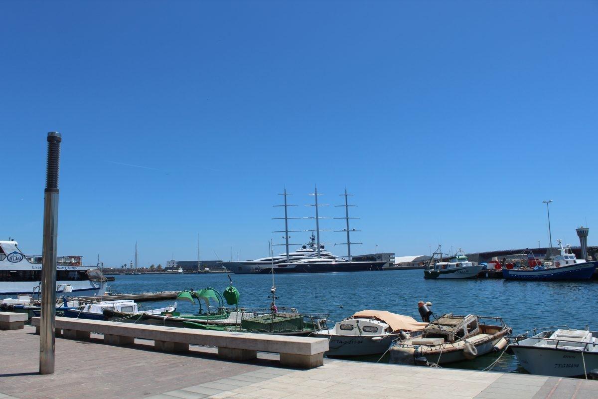 Fisherman's district el Serrallo, Tarragona