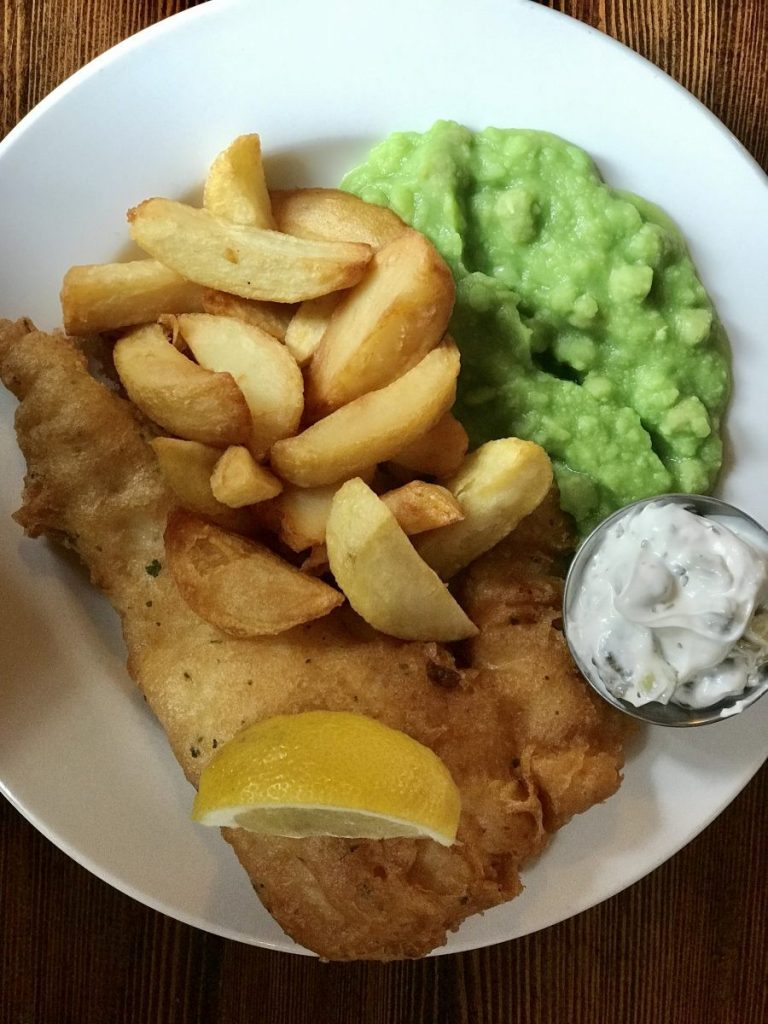 Fish & Chips in the Lion and Key