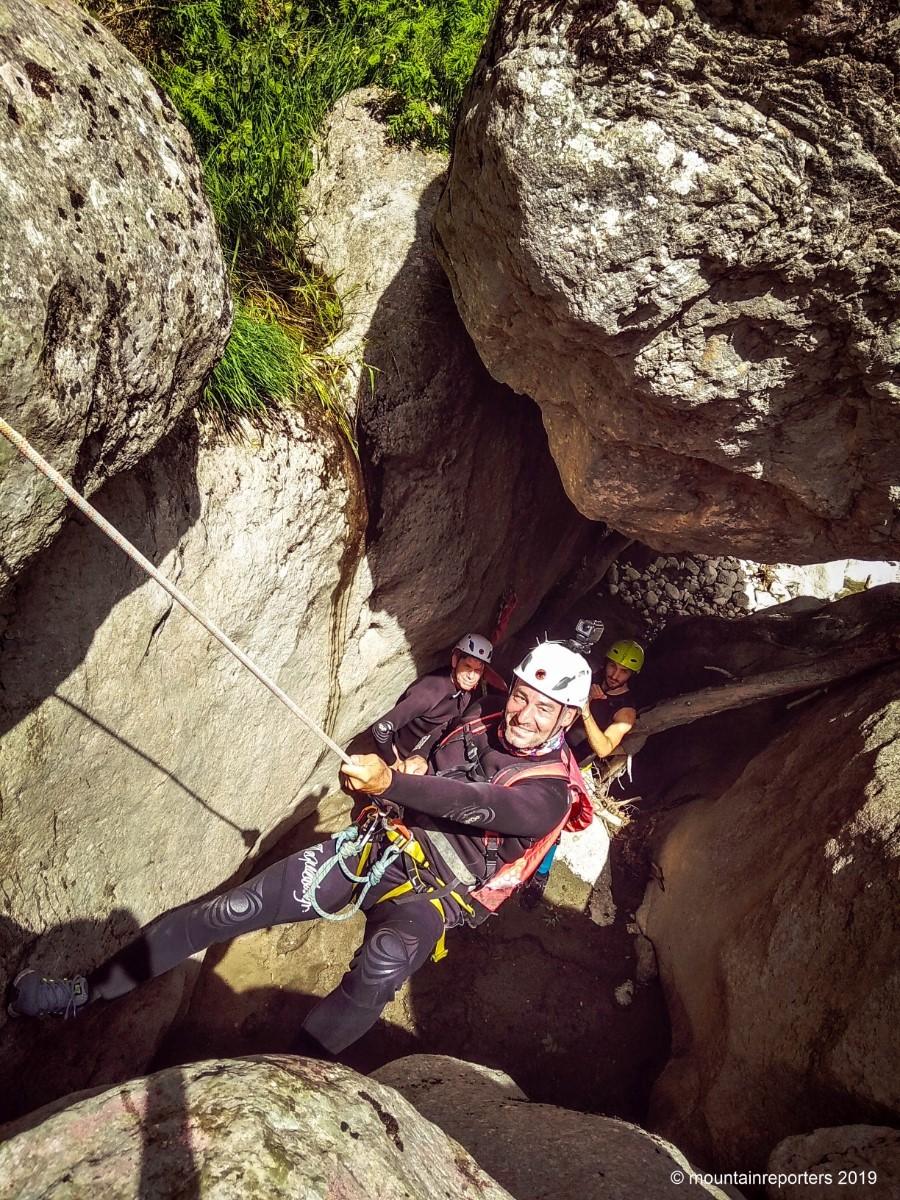 Canyoning - Alpine Zone Epirus Griekenland