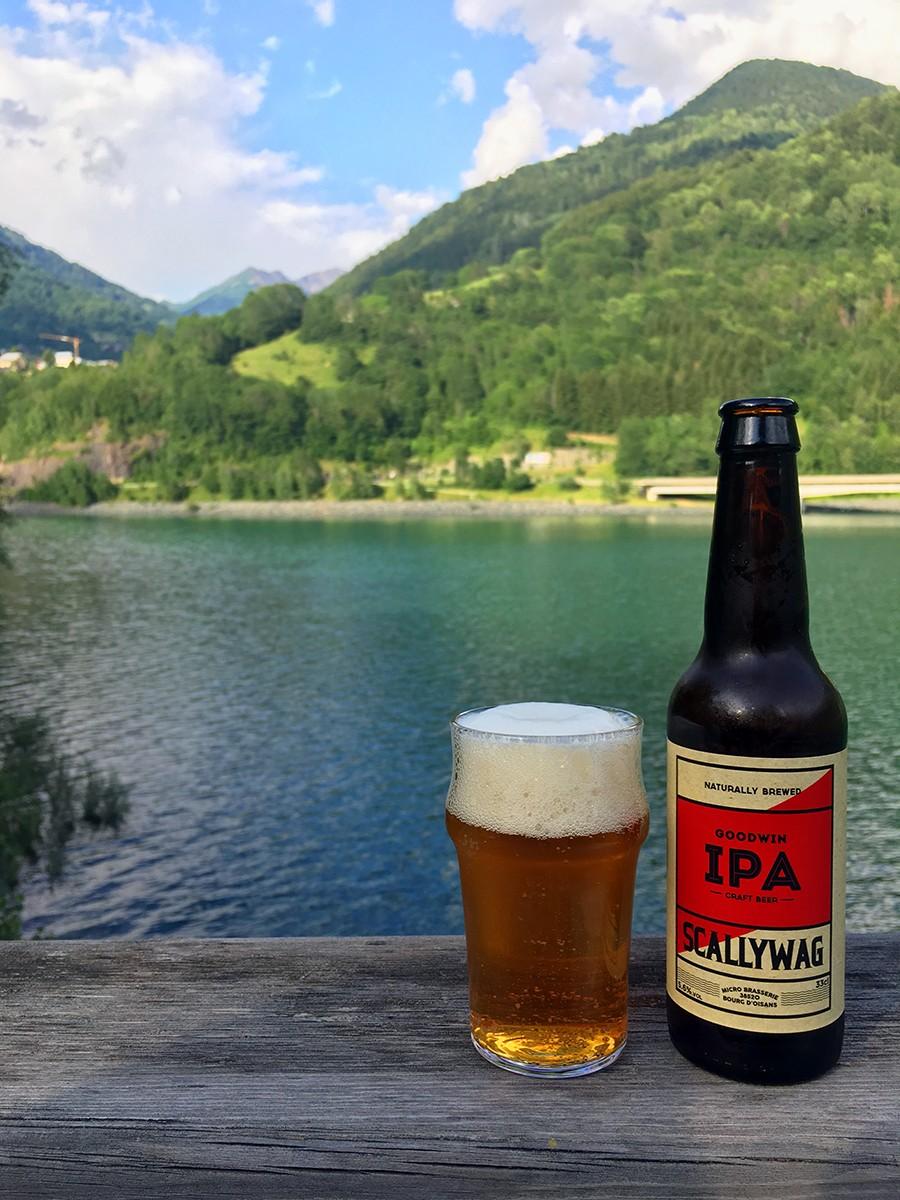 Een lokaal biertje als beloning