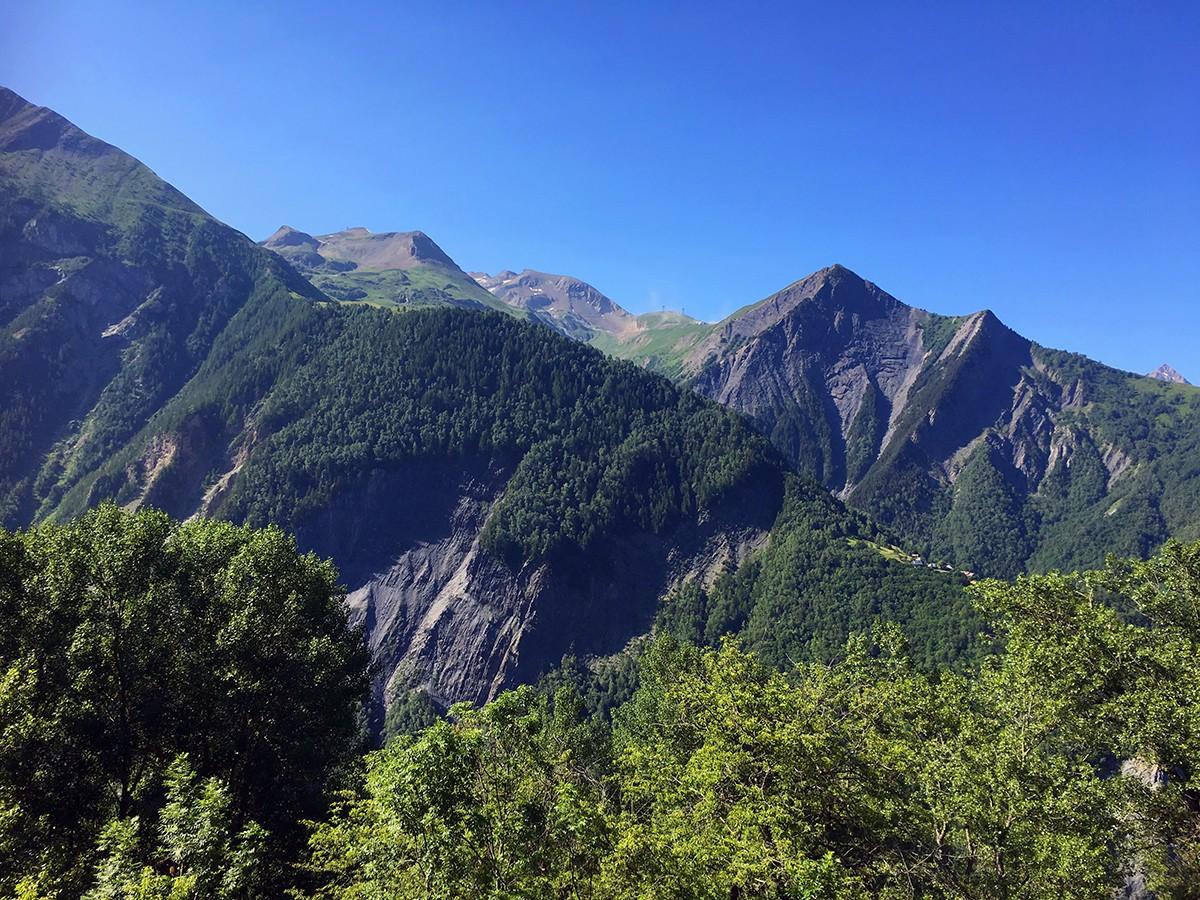 Uitzicht tijdens e-mountainbiken