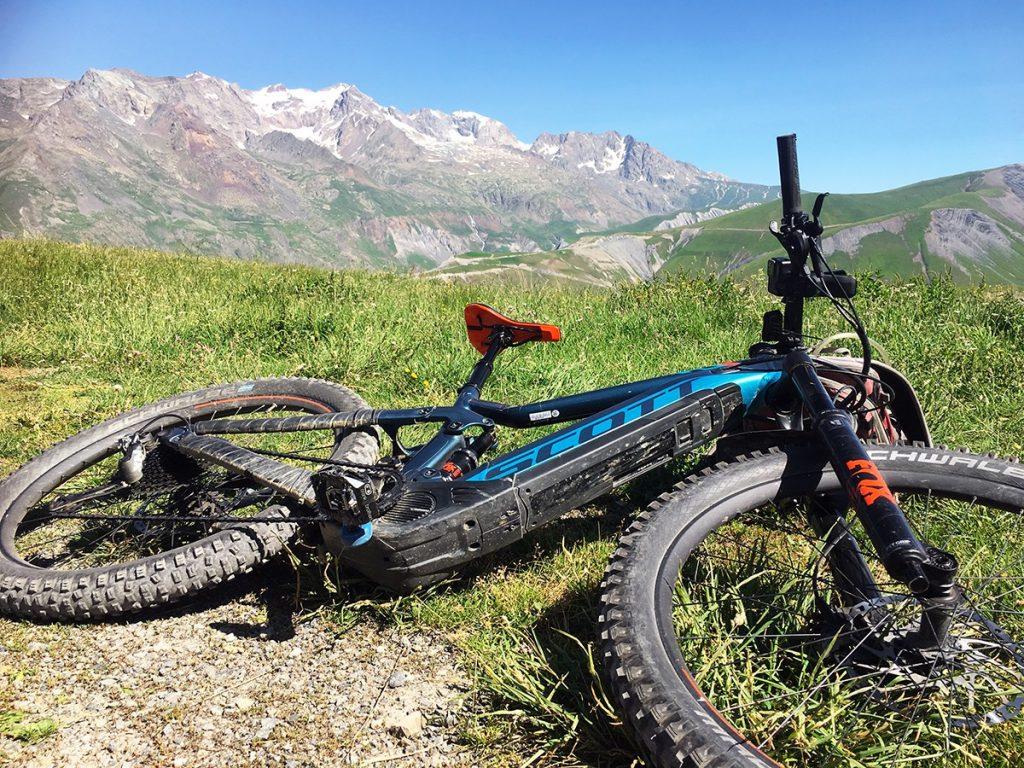 Oisans op de e-mountainbike