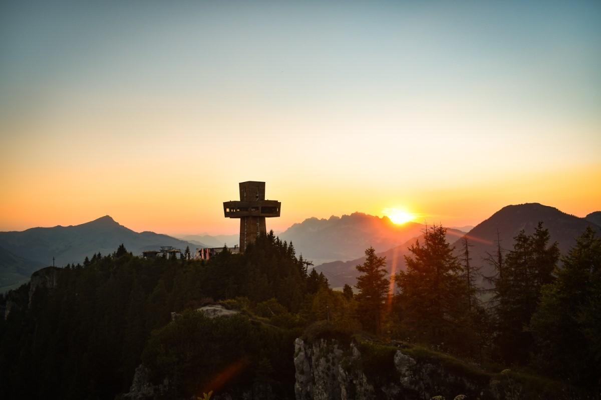 Bezoek natuurlijk het iconische Jakobskreuz. Foto: Sina Bodingbauer