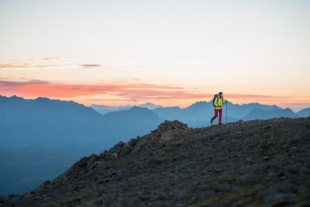 Hiken of Nordic Walking, het kan in Livigno. Copyright: Livigno
