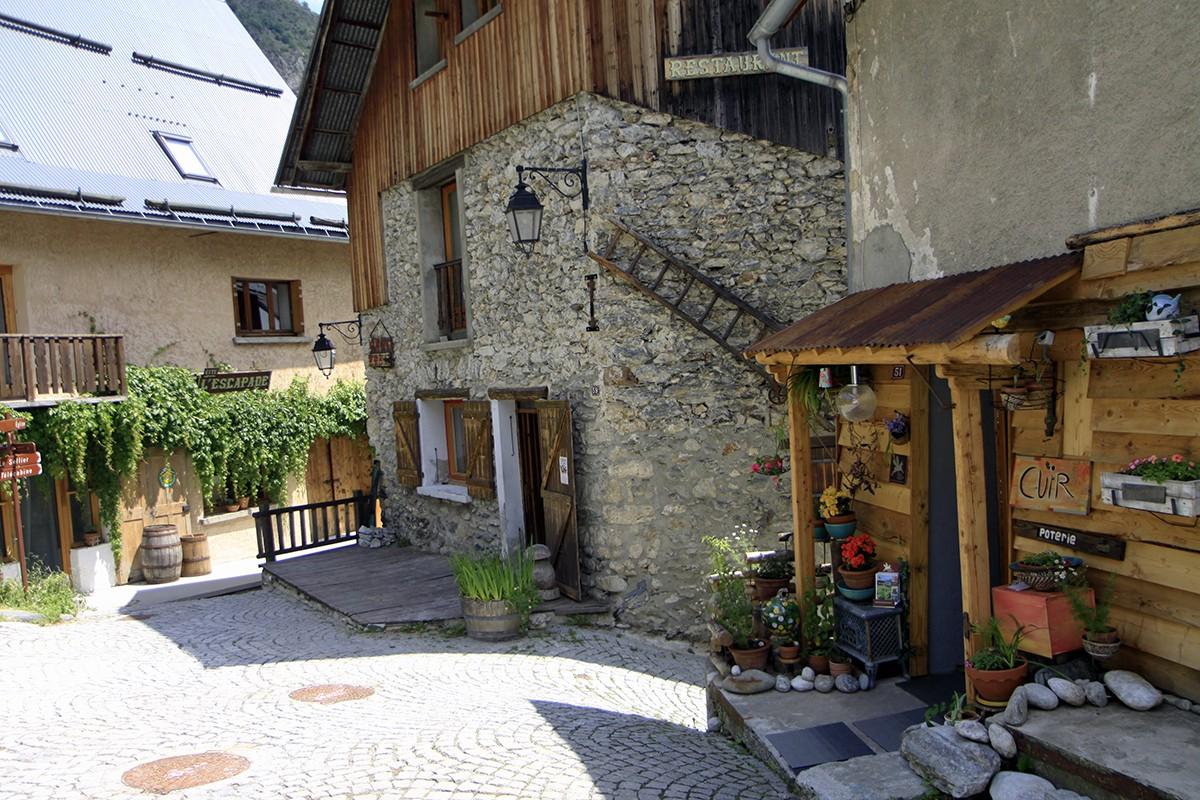 Typische Frans dorpje Venosc