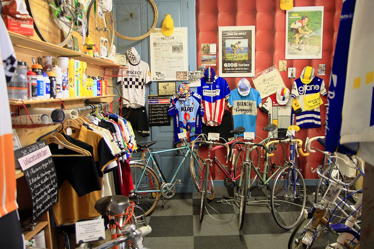 Nostalgie in de fietswinkel